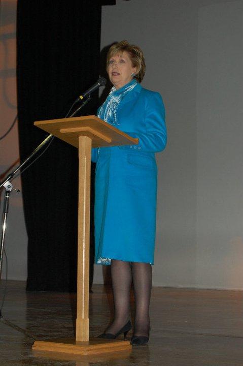 President McAleese visits Barretstown