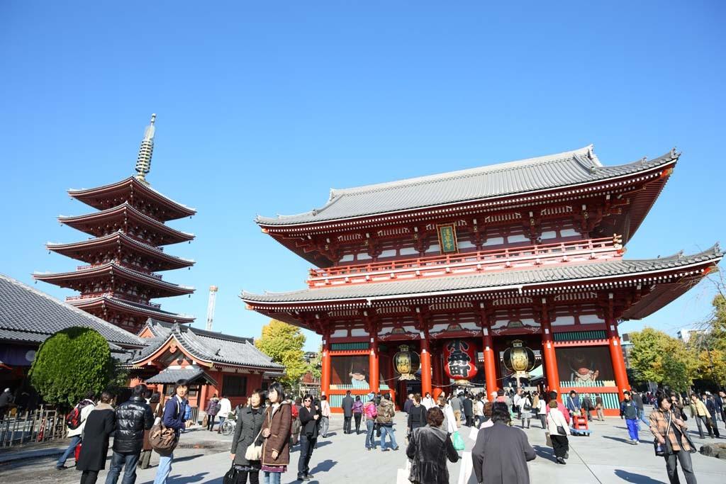Asakusa Temples, Tokyo